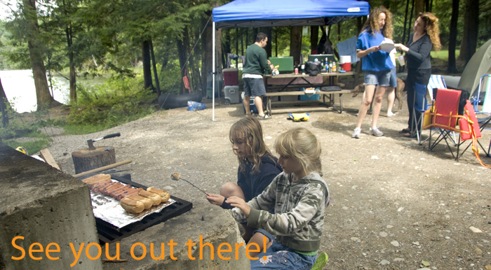 Half Moon State Park Cookout