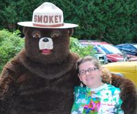 Ashley Brisson with Smokey