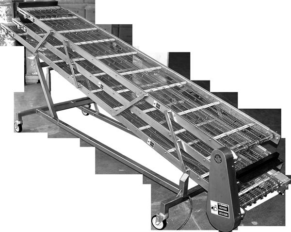 Tortilla Cooling Conveyor