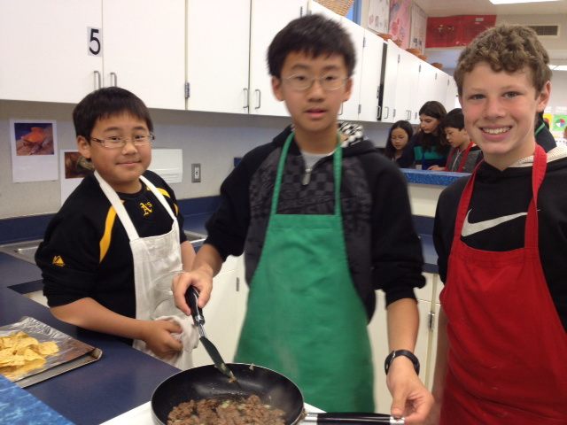 Kenney MS Culinary Class