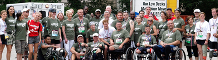 Prince Harry with Achilles Team at 2010 Hope & Possibility
