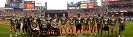 Freedom Team - Honored at Yankee Stadium