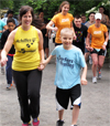 Achilles Kids Central Park Training Run