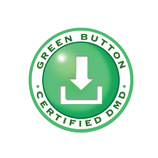 Green Button Certified DMD stamp