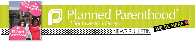 Planned Parenthood Newsletter banner