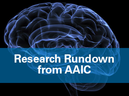 Research Rundown from AAIC