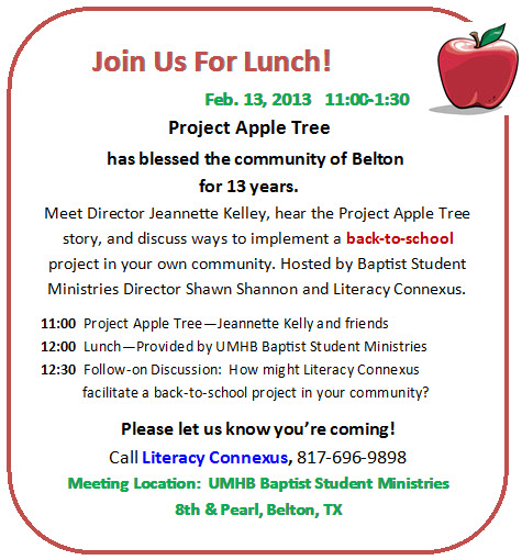 Apple Tree Luncheon