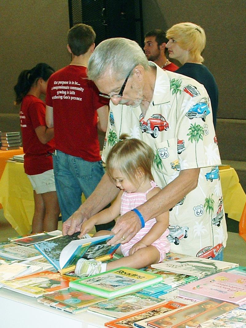 family reading fair