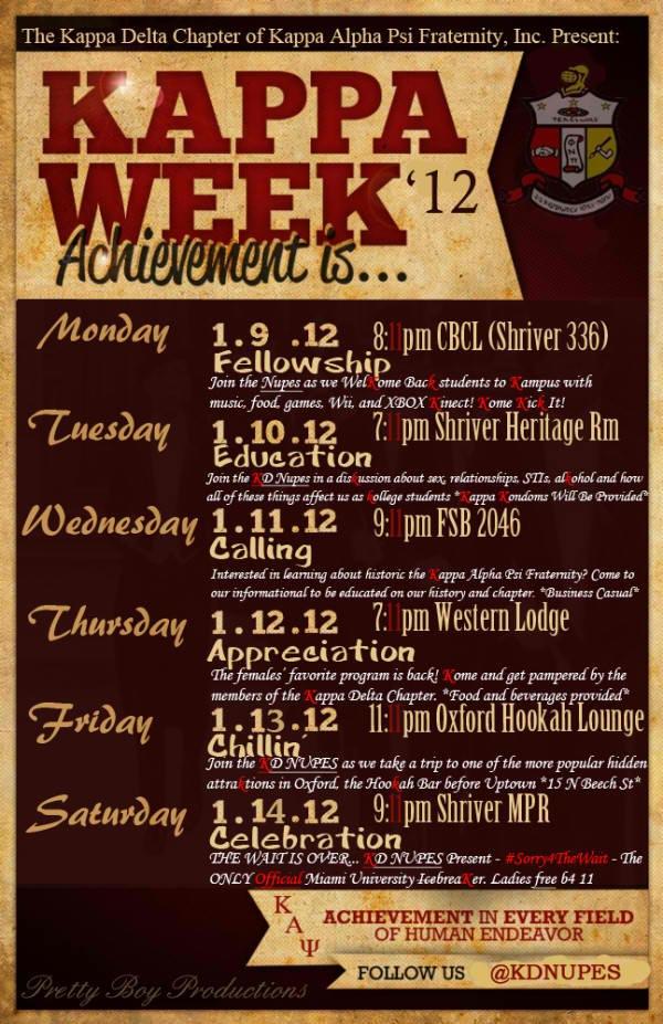 Kappa Week