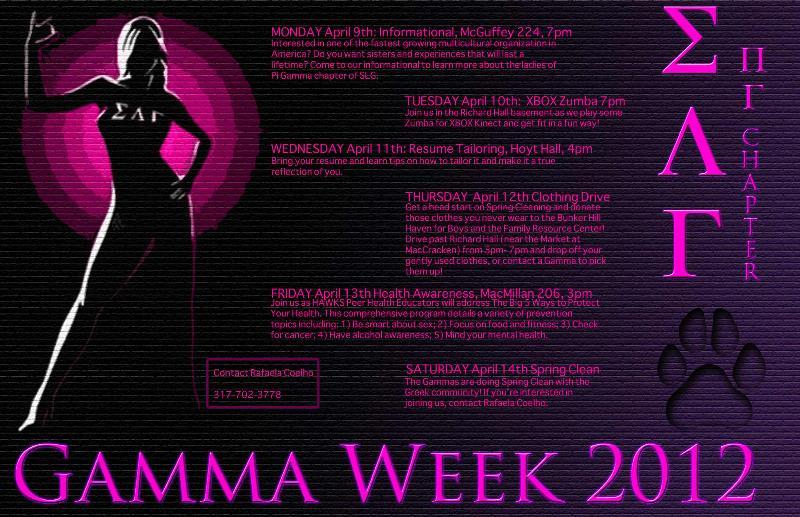 Gamma Week