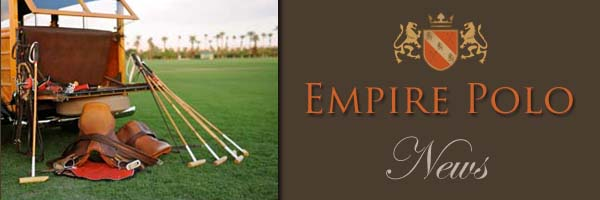 News from Empire Polo Club Feb 14th 2012