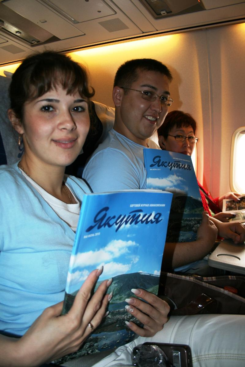 Yakutia Air's In-Flight Magazine