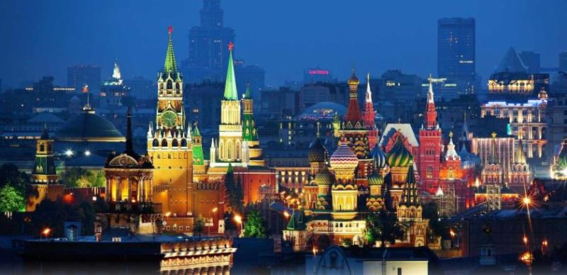 View of Red Square Moscow