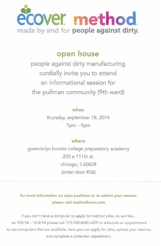 method open house flyer