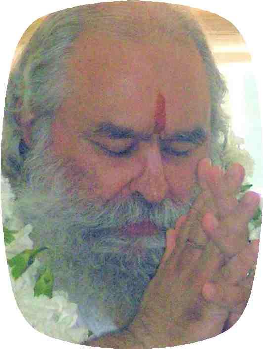 Guruji in prayer