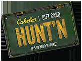 cabela gift card