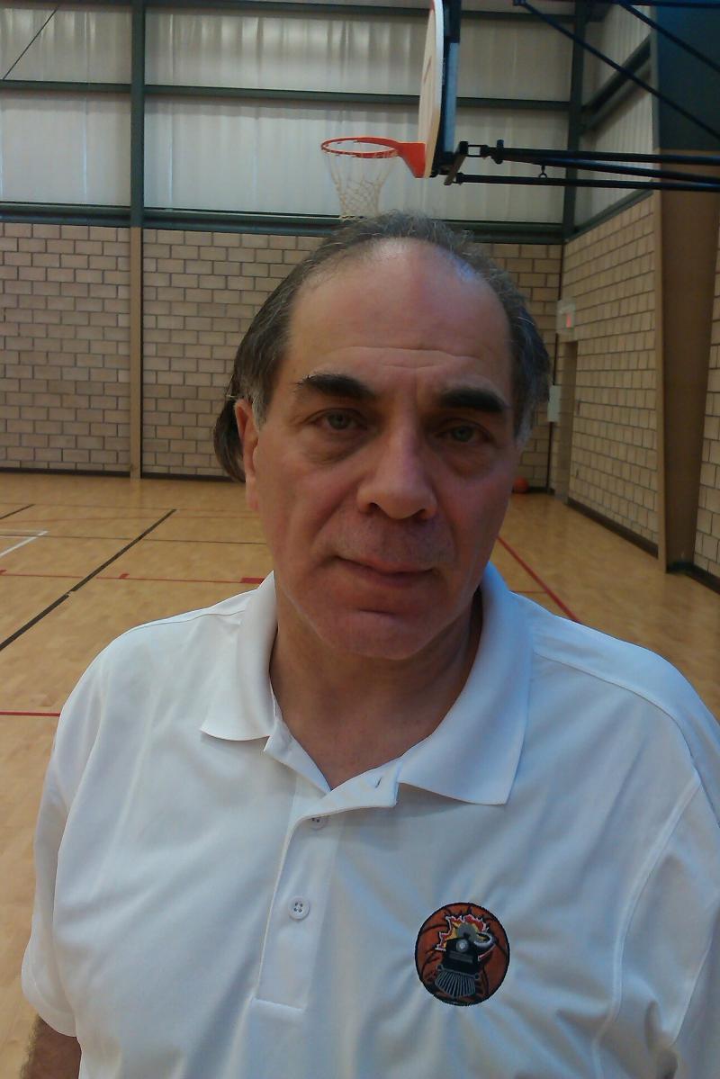 Windsor Express Assistant Coach Gary Mazza.