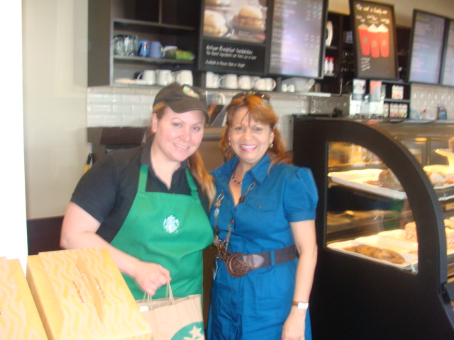 Starbucks, Doral, Chantell Pedraza, Manager