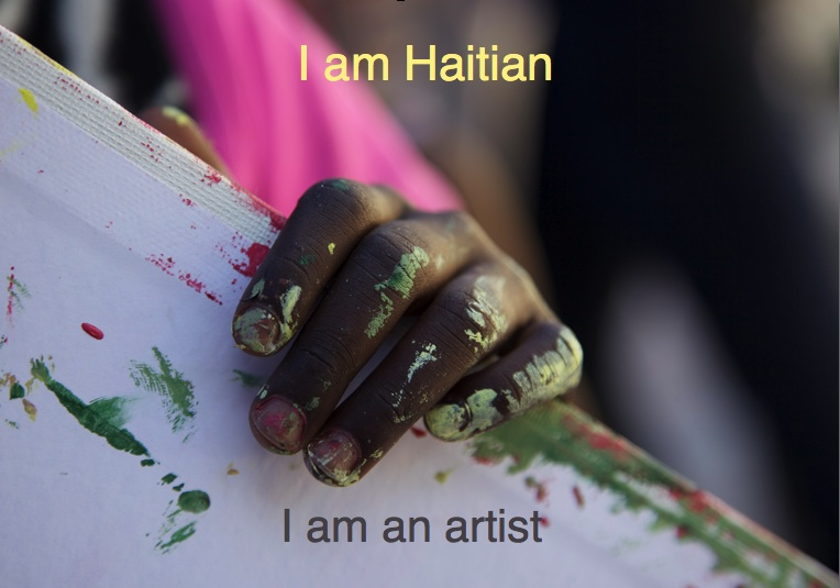 Haiti Benefit Postcard