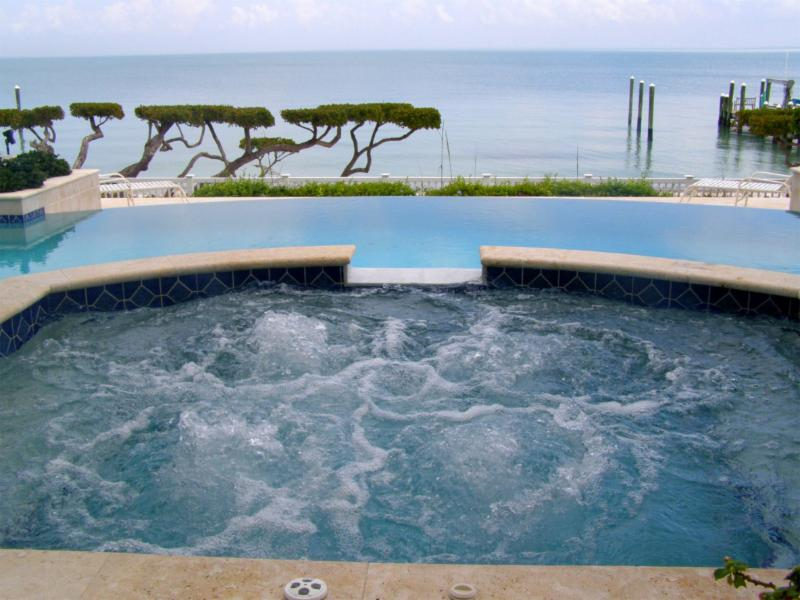 A Spectacular Uninterrupted  View! Open Air Infinity Edge Pool with Spa.
