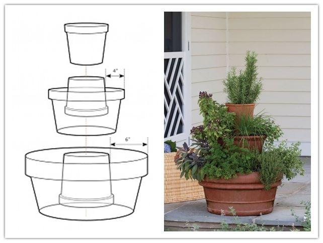 Build a three tier planter