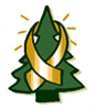 Candlelighters tree ribbon logo