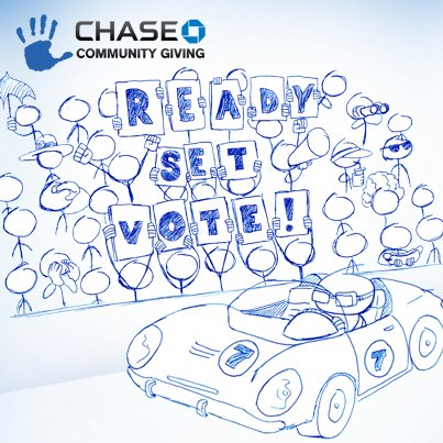 chase community giving voting pic