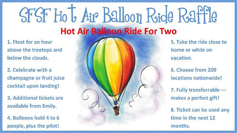 updated hot air balloon info