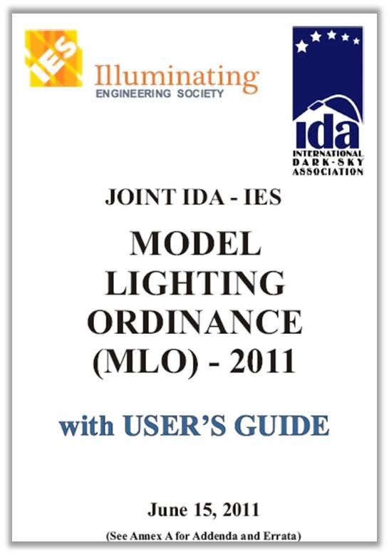 Model Lighting Ordinance