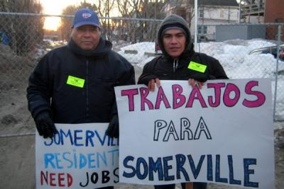 Jobs for Somerville activists