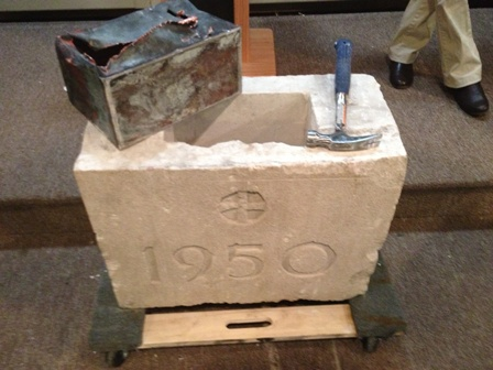 time capsule opened
