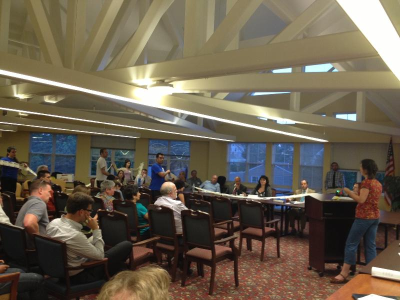 Planning Board Hearing 6-20-13