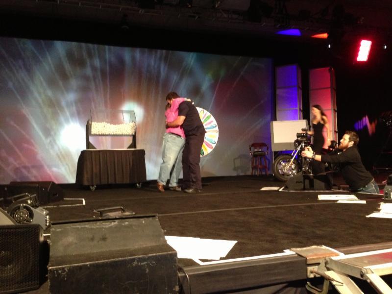 Paula Harris meets Tony Robbins