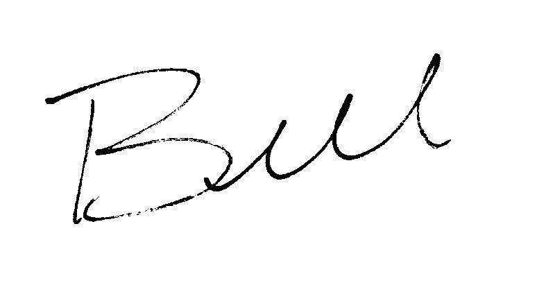 Bill Harris' signature