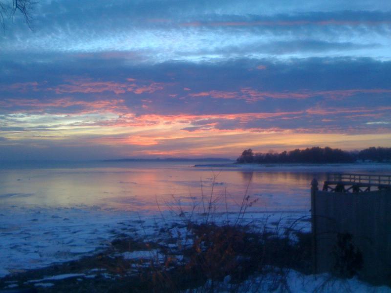 Sunrise on Duxbury Bay
