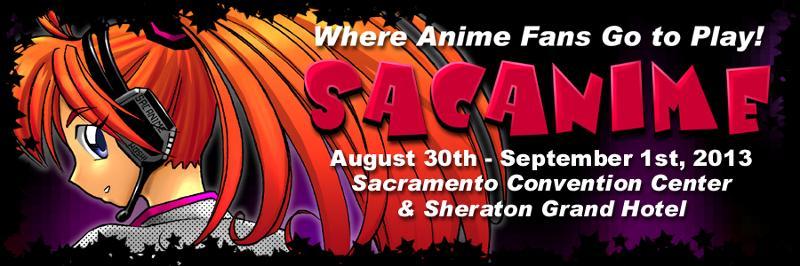 SacAnime Summer 2013 Header