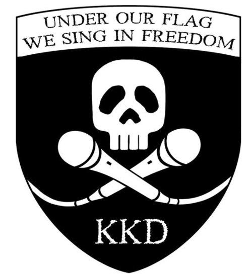 Karaoke Kaizokudan logo.