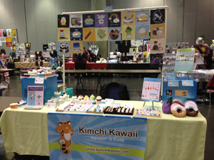 SacAnime Artist Alley. Photo courtesy of http://www.kimchikawaii.com/ Photo