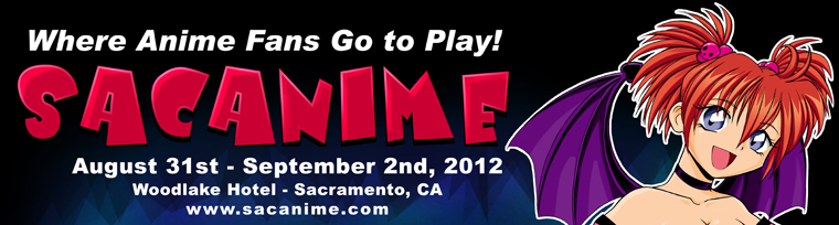 SacAnime August 31 - Sept. 2nd.