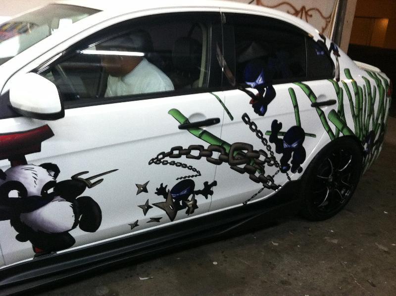 panda days car