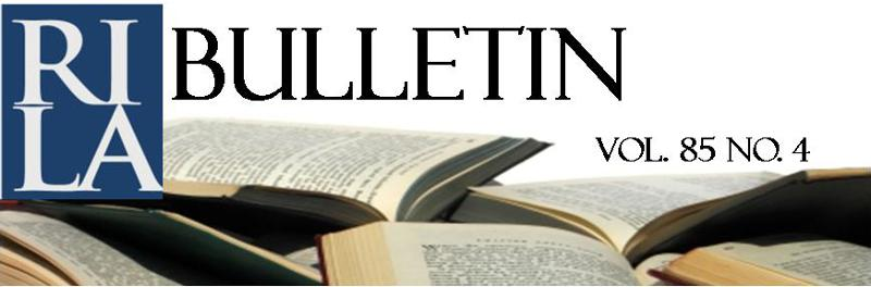 RILA Bulletin logo 85.4(2)