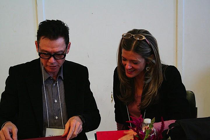 Jack Gantos signs books for fans