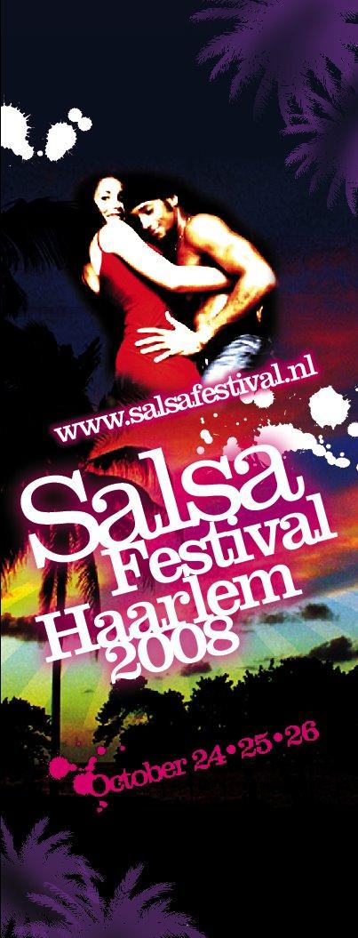Salsafestival banner