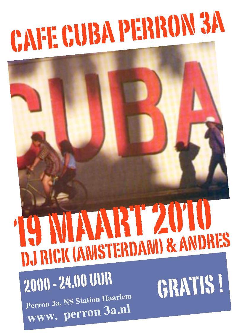 Cuba Cafe 19 Mrt