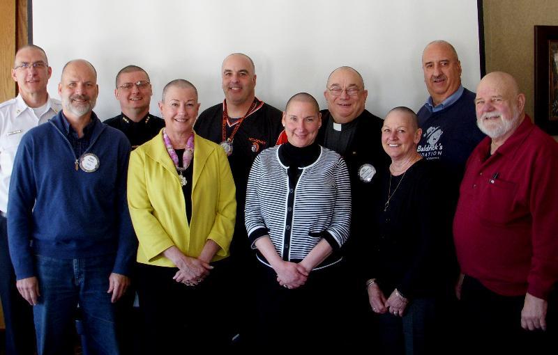 Rotarians Support St. Baldrick's