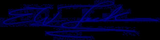 E.W. Jackson Blue Signature