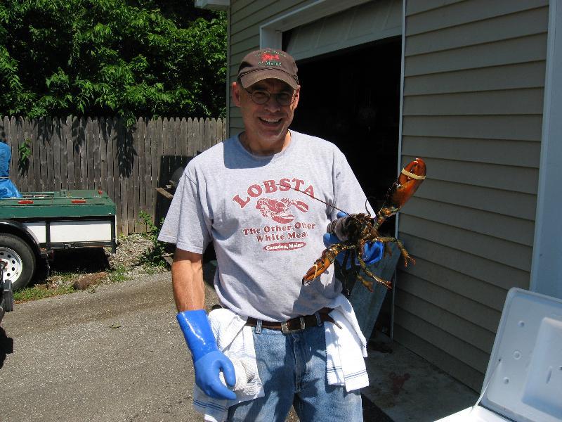 Kevin & 2# lobster