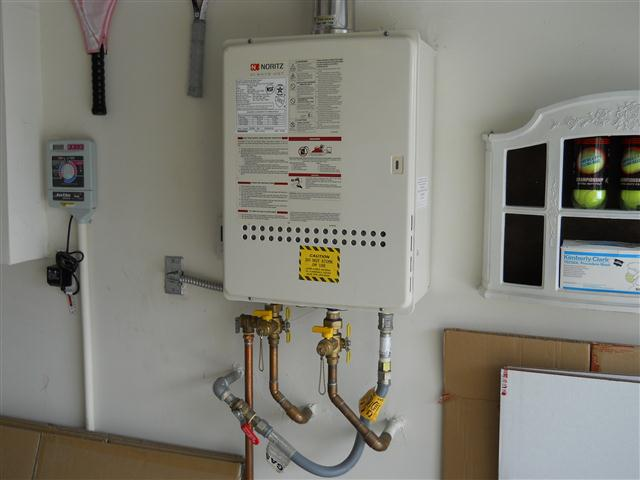 Tankless Water Heater with a Problem
