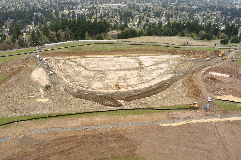 Aerial of digging site APR2010