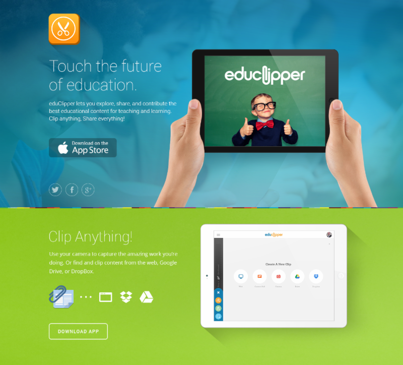 We are proud to announce the brand new iPad app for eduClipper!  Now Available in the App Store.   Download it today and touch the future of education. Video tutorials available at https://vimeo.com/channels/634389